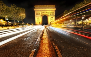 Arc De Triomphe HD Background
