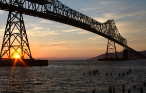 Astoria–Megler Bridge Computer Wallpaper