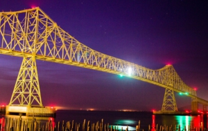 Astoria–Megler Bridge HD Background