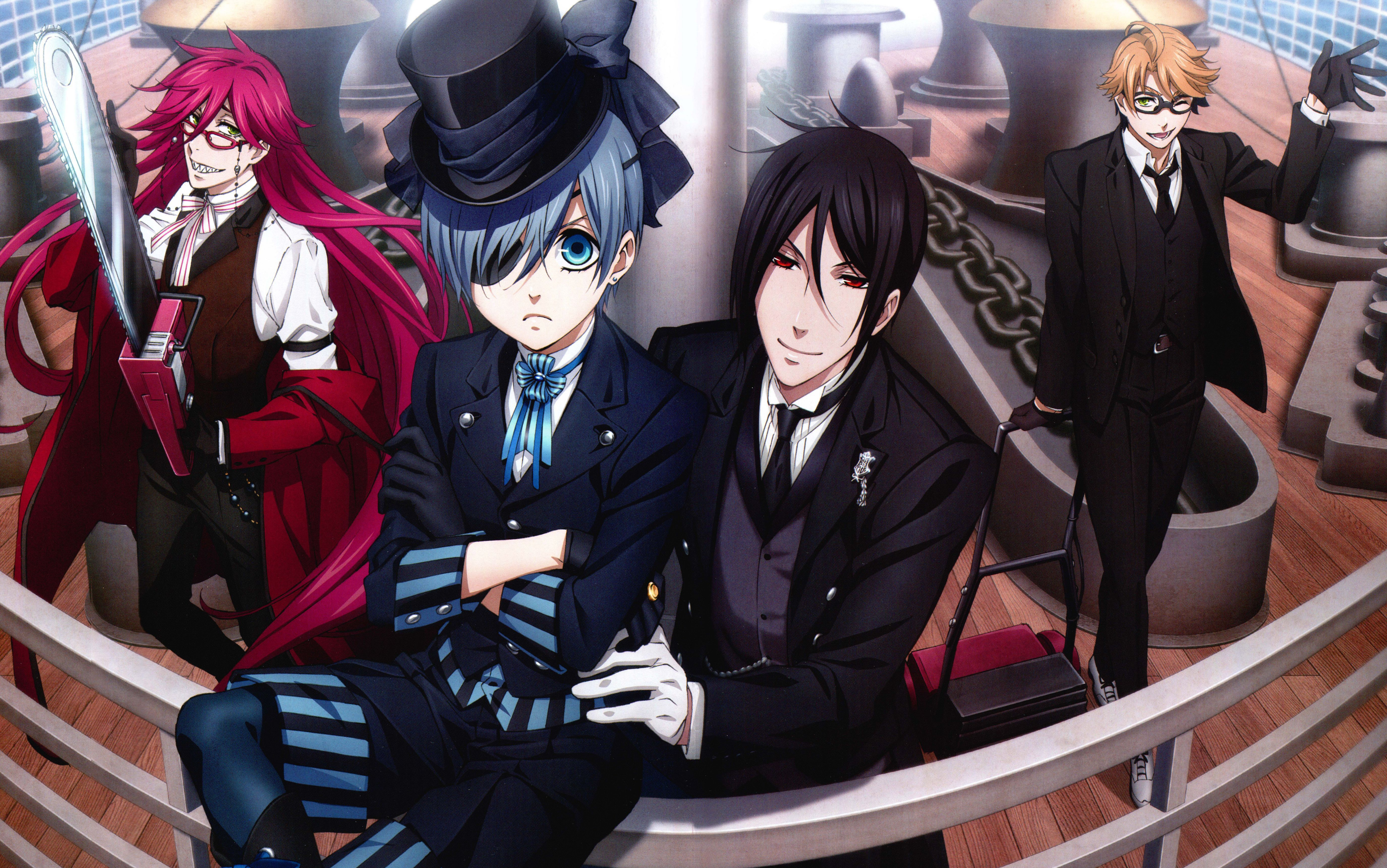 Black Butler Wallpapers Backgrounds