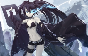 Black Rock Shooter Desktop Images