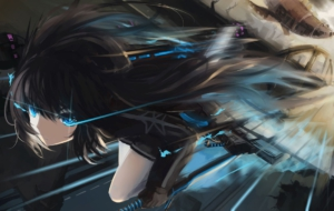 Black Rock Shooter Desktop Wallpaper