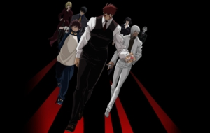 Blood Blockade Battlefront HD Background