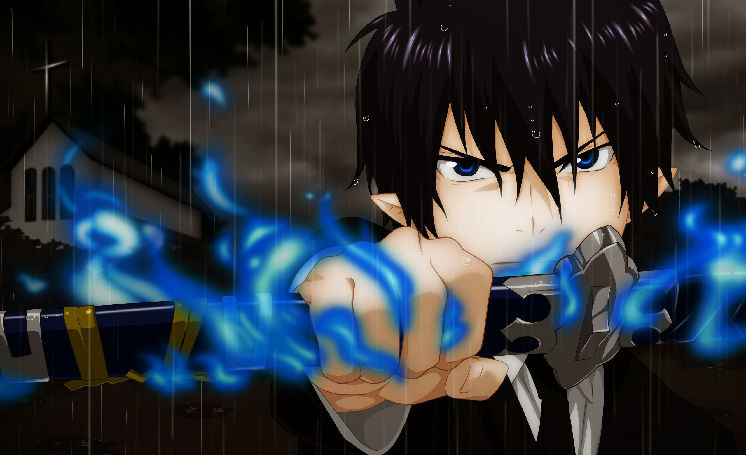Blue exorcist wallpapers backgrounds - Blue anime wallpaper ...