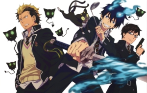 Blue Exorcist For Desktop