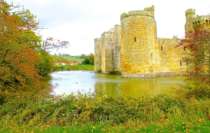 Bodiam Castle Computer Backgrounds