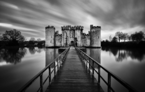 Bodiam Castle HD Background