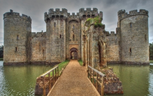 Bodiam Castle HD Desktop