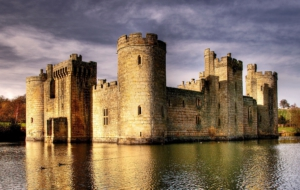 Bodiam Castle For Desktop Background