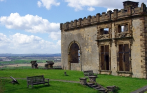 Bolsover Castle HD Background