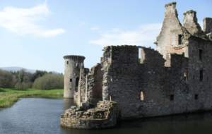 Caerlaverock Castle Background