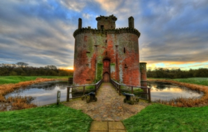 Caerlaverock Castle Computer Backgrounds