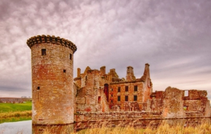 Caerlaverock Castle Desktop Images