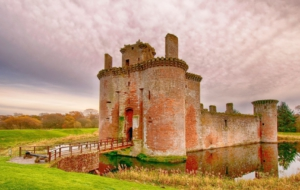 Caerlaverock Castle Desktop Wallpaper