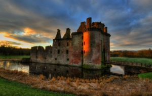 Caerlaverock Castle Download Free Backgrounds HD