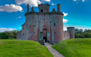 Caerlaverock Castle HD Wallpaper