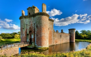 Caerlaverock Castle Full HD