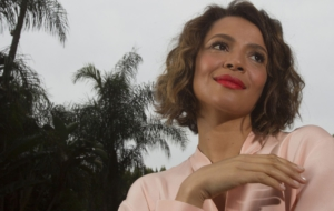 Carmen Ejogo HD Background