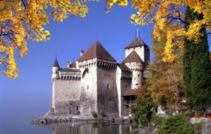 Château De Chillon Desktop Wallpaper