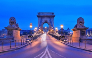 Chain Bridge Wallpaper
