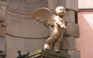 Cherub Statue High Definition Wallpapers