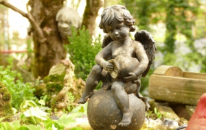 Cherub Statue High Quality Wallpapers