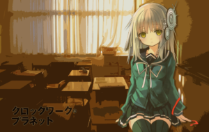 Clockwork Planet Background