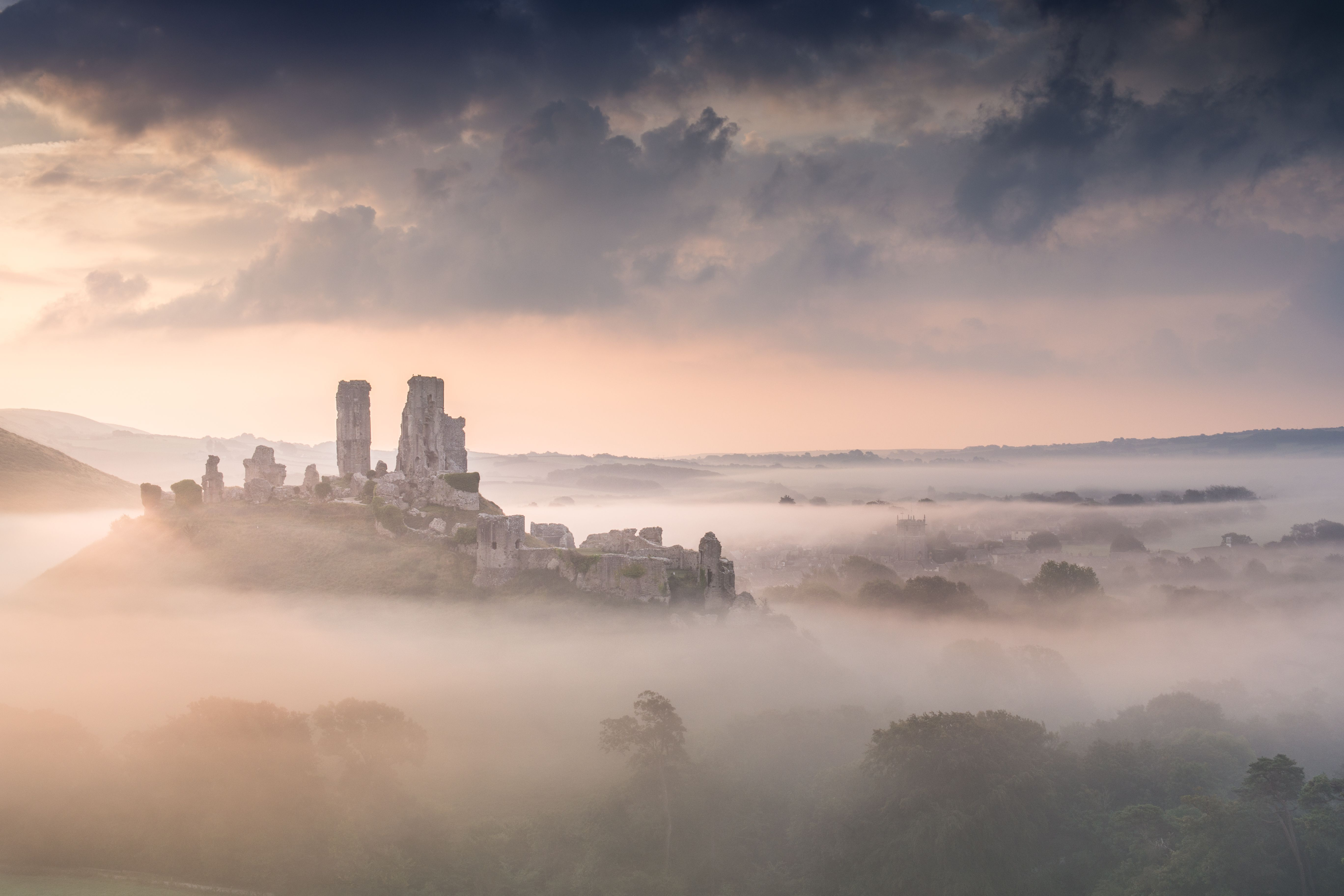 Corfe Castle Wallpapers Backgrounds
