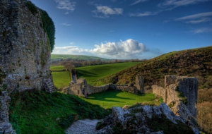 Corfe Castle Photos