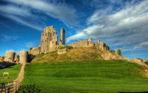Corfe Castle Wallpaper