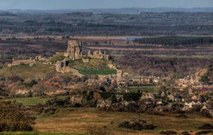 Corfe Castle Widescreen