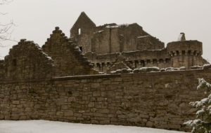 Craigmillar Castle Background