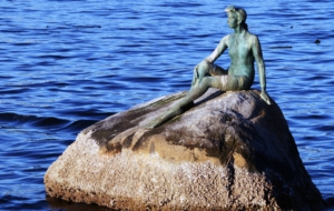 Girl In A Wetsuit Statue Pictures