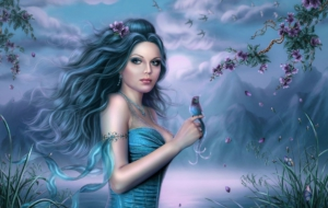 Girls Art High Definition Wallpapers