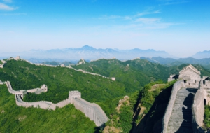 Great Wall Of China Background