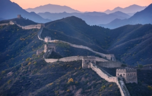 Great Wall Of China HD Background