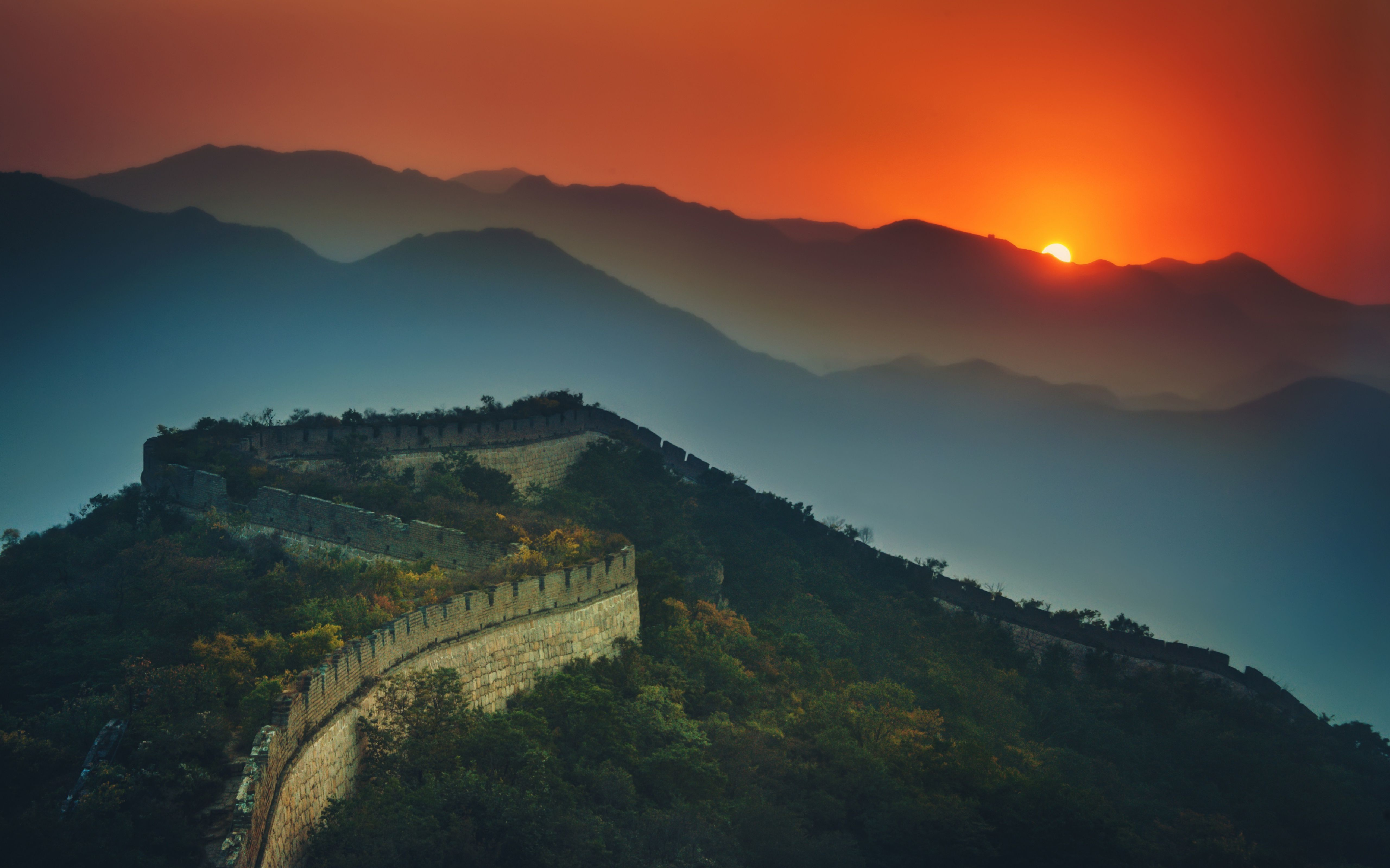 Great Wall Of China Wallpapers Backgrounds