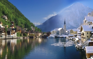 Hallstatt Background