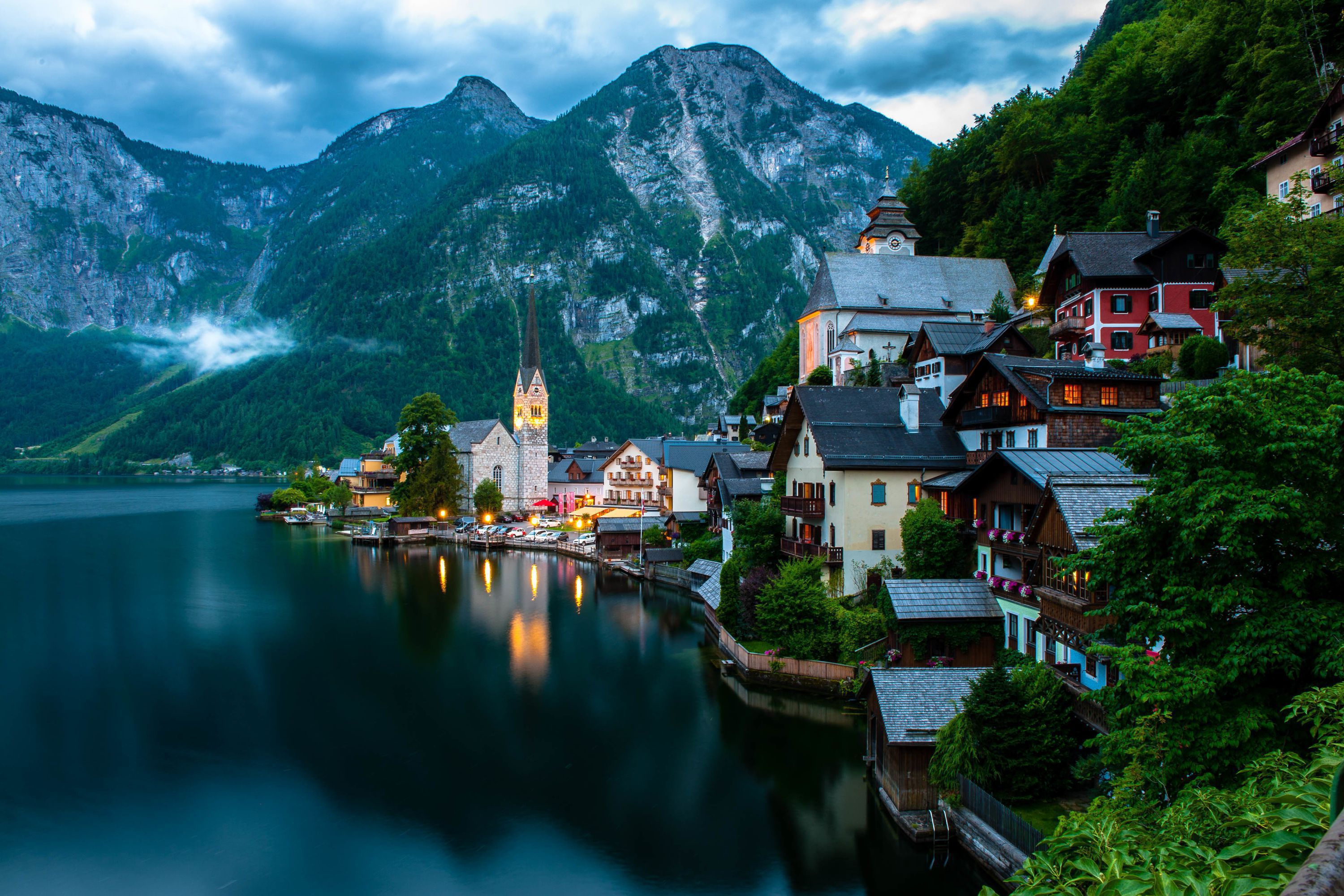 Popular Computer Wallpapers: Hallstatt Wallpapers Backgrounds