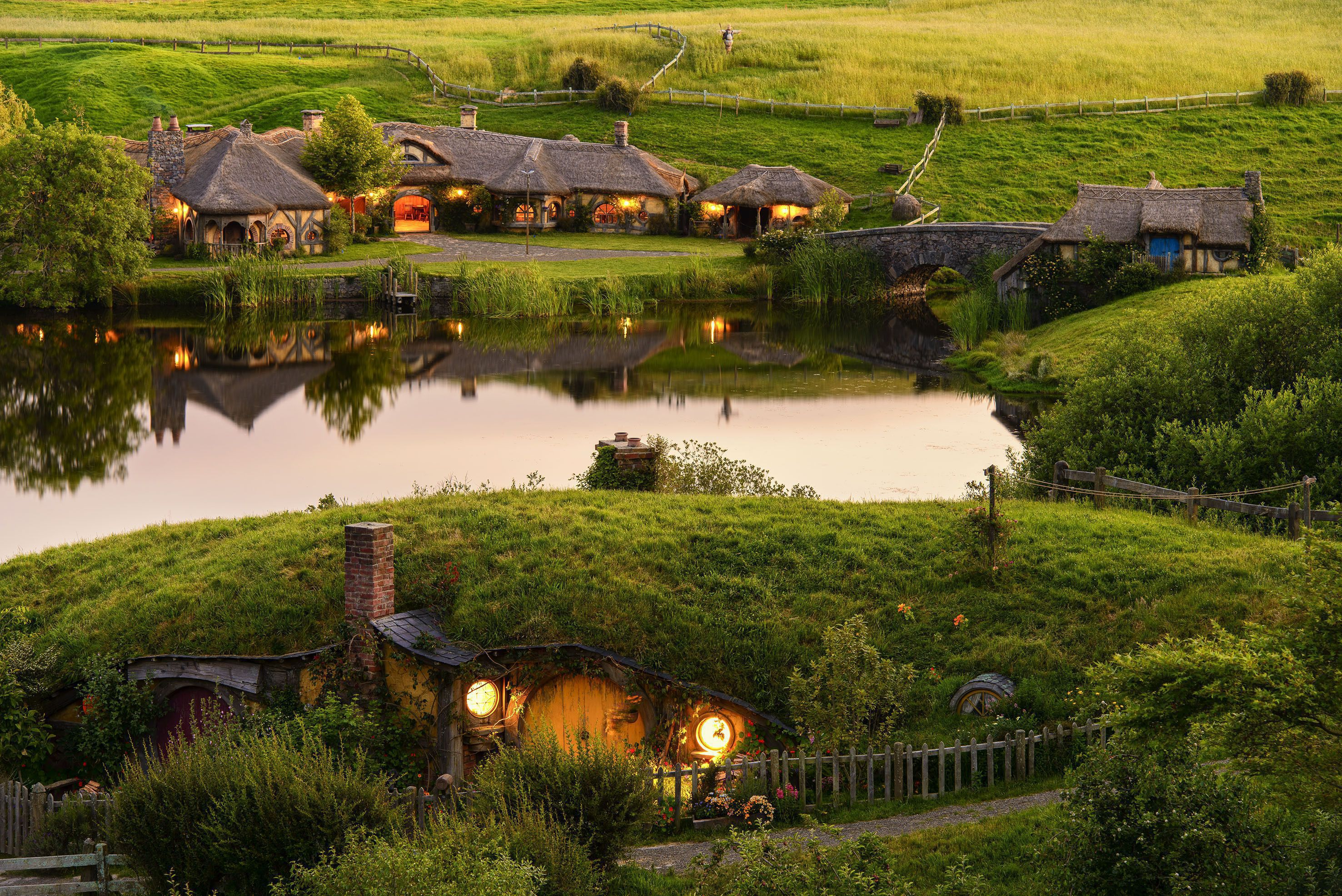 Tiroteo En Nueva Zelanda Wallpaper: Hobbiton Wallpapers Backgrounds