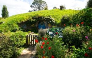 Hobbiton HD Background