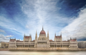 Hungarian Parliament Building Computer Wallpaper