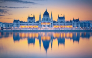 Hungarian Parliament Building HD Desktop