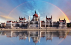 Hungarian Parliament Building Widescreen