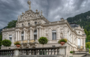 Linderhof Palace Background
