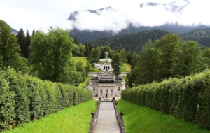 Linderhof Palace Computer Wallpaper
