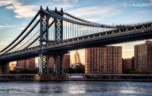 Manhattan Bridge Background