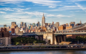 Manhattan Bridge HD Background