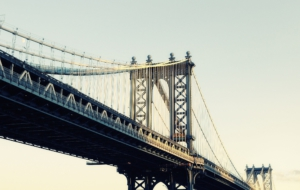 Manhattan Bridge Widescreen