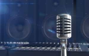 Microphone HD Background